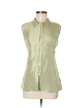 Sigrid Olsen Sleeveless Silk Top Size 8