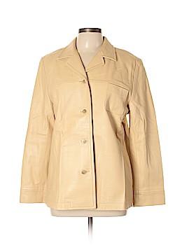 Escada Sport Leather Jacket Size 12