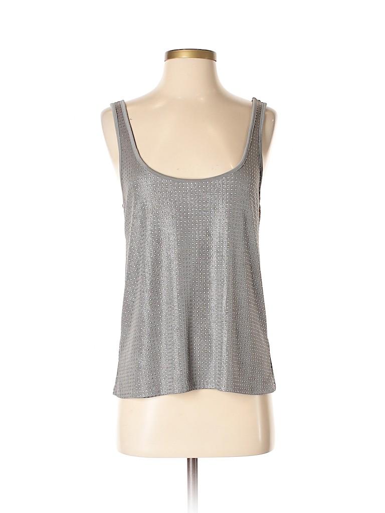 Aqua Women Sleeveless Top Size S