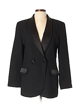 Oleg Cassini Wool Blazer Size 12