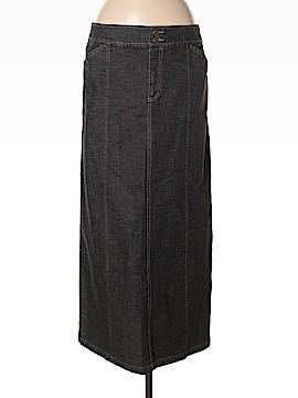Tribal Denim Skirt Size 8