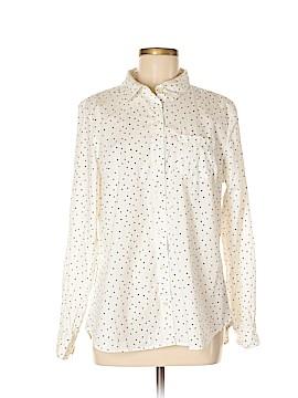 Gap Outlet Long Sleeve Button-Down Shirt Size L