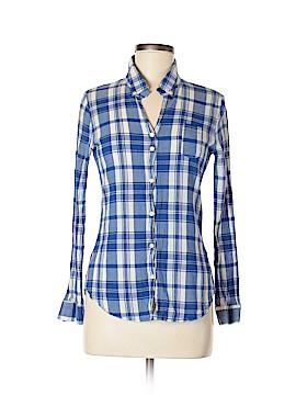 Studio Long Sleeve Button-Down Shirt Size M