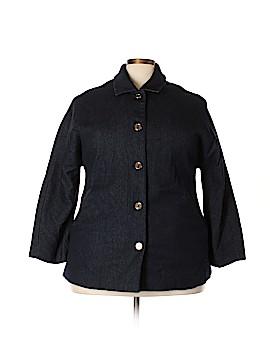 Isaac Mizrahi LIVE! Wool Coat Size 20 (Plus)