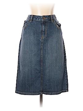 Lands' End Denim Skirt Size 6