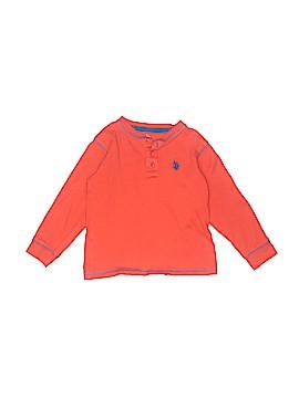U.S. Polo Assn. Long Sleeve Henley Size 5 - 6