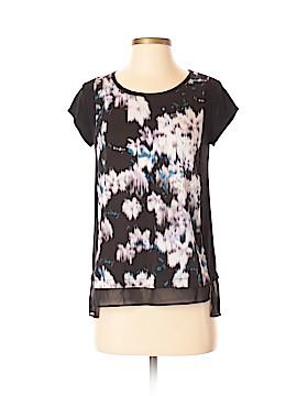 Simply Vera Vera Wang Short Sleeve Blouse Size XS (Petite)