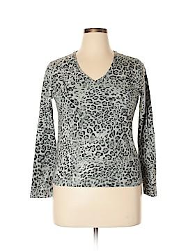 Jones New York Long Sleeve T-Shirt Size XL