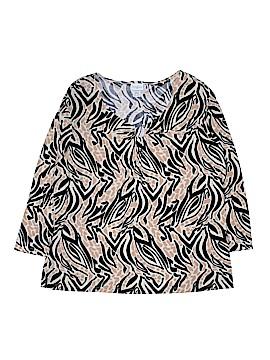 Jaclyn Smith 3/4 Sleeve Top Size XXL