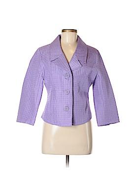 Anne Carson Silk Blazer Size M