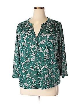 H&M 3/4 Sleeve Blouse Size XL