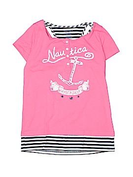 Nautica Short Sleeve Henley Size 10 - 12