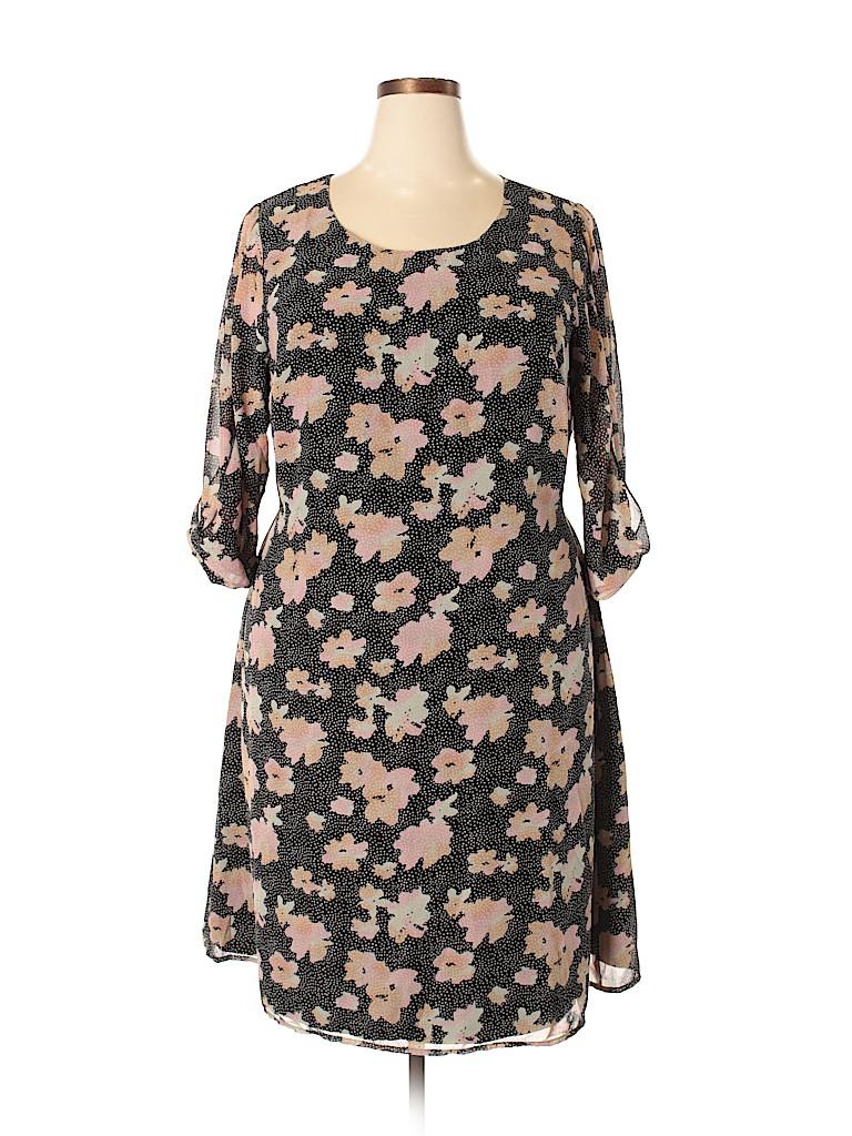 Ryan Wythe Women Casual Dress Size 2X (Plus)