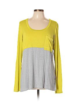 Bordeaux Long Sleeve T-Shirt Size L