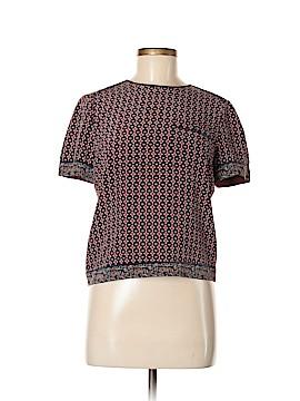 Tory Burch Short Sleeve Silk Top Size 6