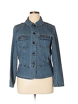 St. John's Bay Denim Jacket Size L