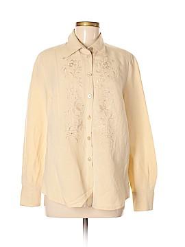 Basler Long Sleeve Button-Down Shirt Size 42 (IT)