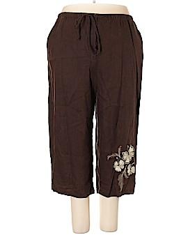 JM Collection Linen Pants Size 22W (Plus)