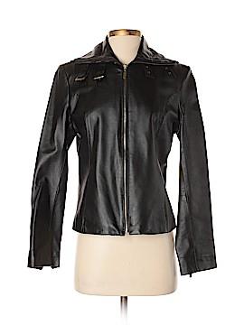 Pamela McCoy Leather Jacket Size XS
