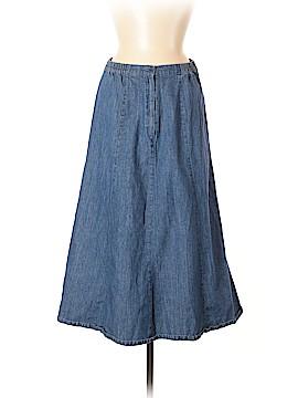 Chadwicks Denim Skirt Size 8