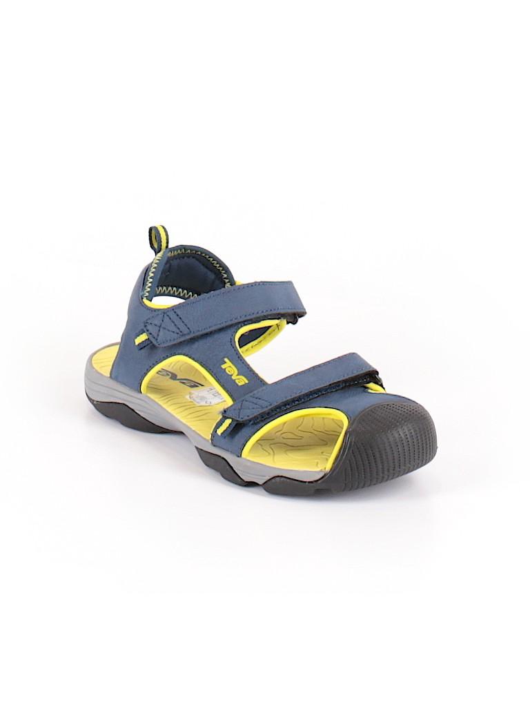 e3916fa7a Teva Solid Dark Blue Sandals Size 36 (EU) - 65% off