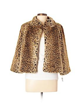 INC International Concepts Faux Fur Jacket Size L