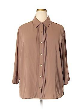 Covington Long Sleeve Blouse Size 24 - 26 (Plus)