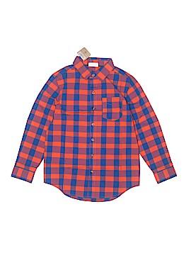 Crazy 8 Long Sleeve Button-Down Shirt Size M (Kids)
