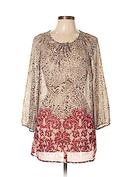 Liz Claiborne 3/4 Sleeve Blouse Size L (Tall)