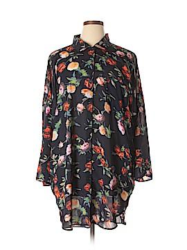 Boohoo Boutique Long Sleeve Blouse Size 18 (Plus)