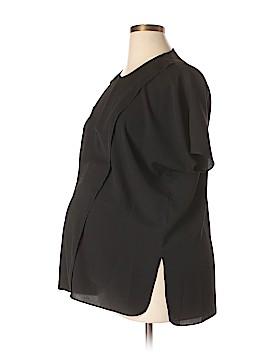 Loyal Hana Short Sleeve Blouse Size L (Maternity)