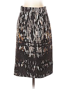 Monique Lhuillier Silk Skirt Size 8