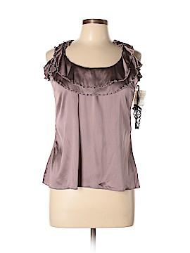 Soul Revival Short Sleeve Silk Top Size M