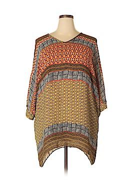 Nic + Zoe Short Sleeve Blouse Size 2X (Plus)