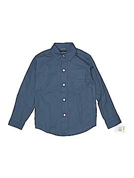 Nautica Long Sleeve Button-Down Shirt Size M (Kids)