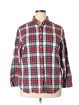 L.L.Bean Long Sleeve Button-Down Shirt Size 18 (Plus)