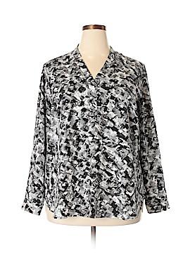 Jones Studio Long Sleeve Blouse Size 2X (Plus)