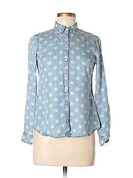 Foxcroft Long Sleeve Button-Down Shirt Size 0 (Petite)