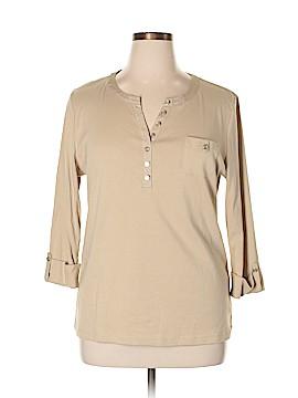 Karen Scott 3/4 Sleeve Top Size XL