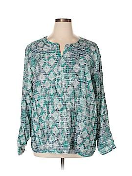 Van Heusen 3/4 Sleeve Top Size XXL