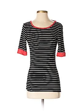 Joan Vass 3/4 Sleeve T-Shirt Size 4 (0)