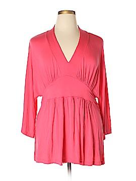 Melissa McCarthy Seven7 3/4 Sleeve Top Size 1X (Plus)