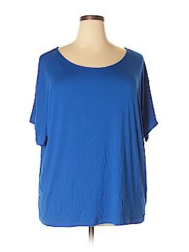 Calvin Klein Short Sleeve Top Size 3X (Plus)