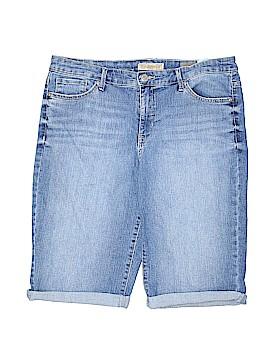 Nine West Vintage America Denim Shorts Size 14
