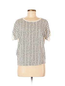 Comptoir des Cotonniers Short Sleeve Blouse Size Med (2)