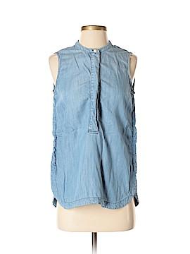 J. Crew Sleeveless Button-Down Shirt Size 0