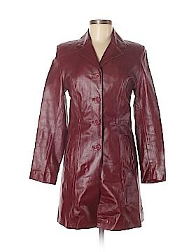 Vera Pelle Faux Leather Jacket Size 38 (EU)