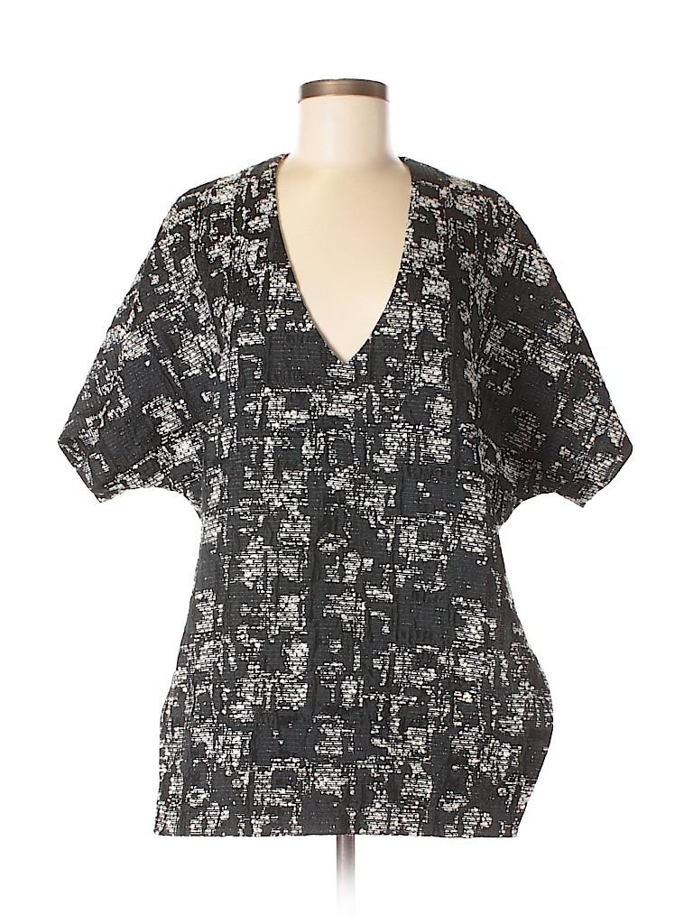 Marissa Webb Women Short Sleeve Blouse Size M