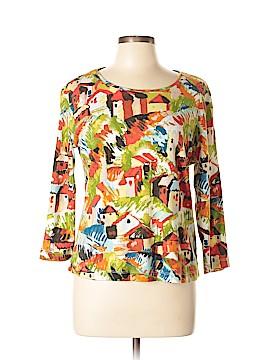 Chico's 3/4 Sleeve T-Shirt Size Lg (2)