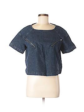 Rachel Comey Short Sleeve Blouse Size 8